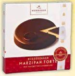 Marzipan Torte von Niederegger