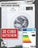 Waschautomat WU140420 von Siemens