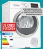 Wärmepumpentrockner WTW85400 von Bosch