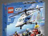 City Verfolgungsjagd mit dem Polizeihubschrauber 60243 von Lego