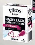 Nagellack Entferner von Elkos