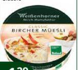 Bio Bircher Müsli von Weißenhorner Milch Manufaktur