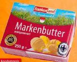 Markenbutter von Frankenland