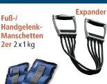 Fuß-/Handgelenk-Manschetten von Topfit