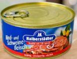 Rind- und Schweinefleisch von Halberstädter