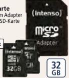 Micro-SDHC-Karte von Intenso