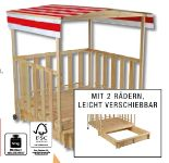 Spielhaus mit Sandkasten von Beluga Spielwaren