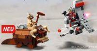 T-16 Skyhopper vs Bantha Microfighters von Lego