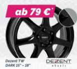 """TW Dark 15""""-18"""" von Dezent"""