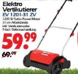 Elektro Vertikutierer EV1201-31ZV von Grizzly