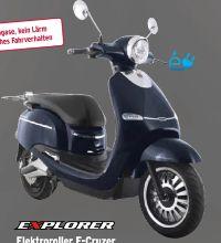 Elektroroller E-Cruzer von Explorer