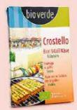 Bio-Crostello Brat & Grill Käse von bio-verde