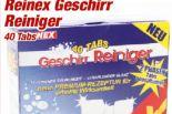 Geschirrtabs von Reinex