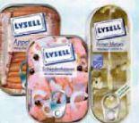 Fischkonserven von Lysell