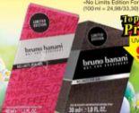 Man No Limits EdT von Bruno Banani