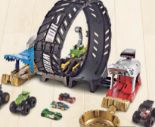 Monster Trucks Looping-Challenge Spielset von Hot Wheels