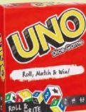 Uno Würfelspiel von Mattel Games