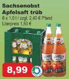 Apfelsaft von Sachsenobst