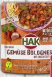 Italienische Gemüse Bolognese von HAK