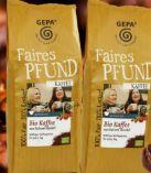 Faires Pfund Bio Kaffee von Gepa