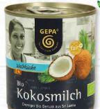 Bio Kokosmilch von Gepa