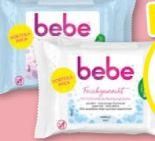 Feuchte Reinigungstücher von Bebe Young Care