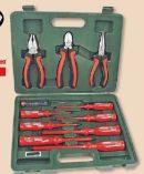 Schraubendreher-Zangensatz 12-tlg. von Brüder Mannesmann Werkzeuge
