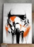 Metall Poster Star Wars Stormtrooper Banksy von Elbenwald