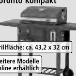 Grillwagen Toronto Kompakt von Tepro