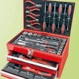 Bestückte Werkzeugbox M29066 von Brüder Mannesmann Werkzeuge