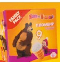 Eis mit Vanillegeschmack von Mascha und der Bär