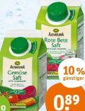 Bio-Gemüsesaft von Alnatura