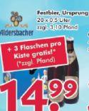 Festbier von Aldersbacher