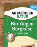Bio-Ziegen-Bergkäse von Andechser Natur