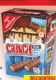 Schoko-Knusperriegel Crunch von Gut & Günstig