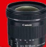 Ultraweitwinkel-Zoomobjektiv EF-S 10-18 mm von Canon