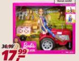 Bäuerin mit Traktor von Barbie
