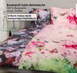 Baumwoll-Satin-Bettwäsche von Blerbaum