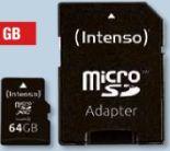 micro SDXC-Card 64GB von Intenso