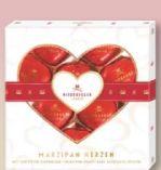 Marzipan Herzen Glücklichsein Liebe von Niederegger