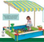 Sandkasten mit Dach von Beluga Spielwaren