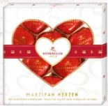Marzipan-Herzen von Niederegger