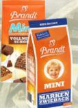 Mini-Markenzwieback von Brandt Zwieback