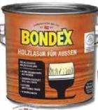 Holzlasur für Außen von Bondex
