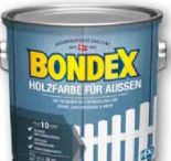 Holzfarbe von Bondex