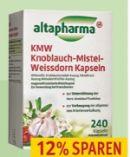 KMW Knoblauch-Mistel-Weissdorn Kapseln von Altapharma