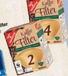 Kaffee Filter von Gut & Günstig