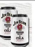 Bourbon & Cola von Jim Beam