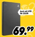 Game Drive 2TB Playstation 4 von Seagate