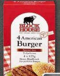 4 American Burger von Block House